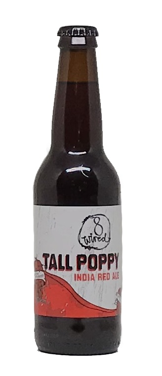 8Wired Brewing 8Wired Tall Poppy Indian Red Ale