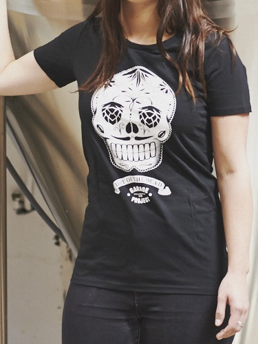 Garage Project Garage Project Day of the Dead Women's T-Shirt Black S