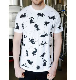 Garage Project Garage Project White Mischief Men's T-Shirt  S Size