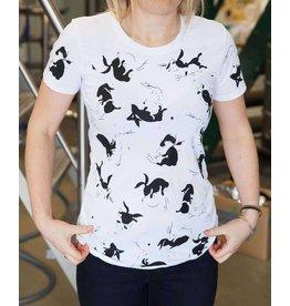 Garage Project Garage Project White Mischief Women's T Shirt M Size