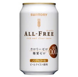 Suntory Suntory All-Free Can (0% Alcohol )