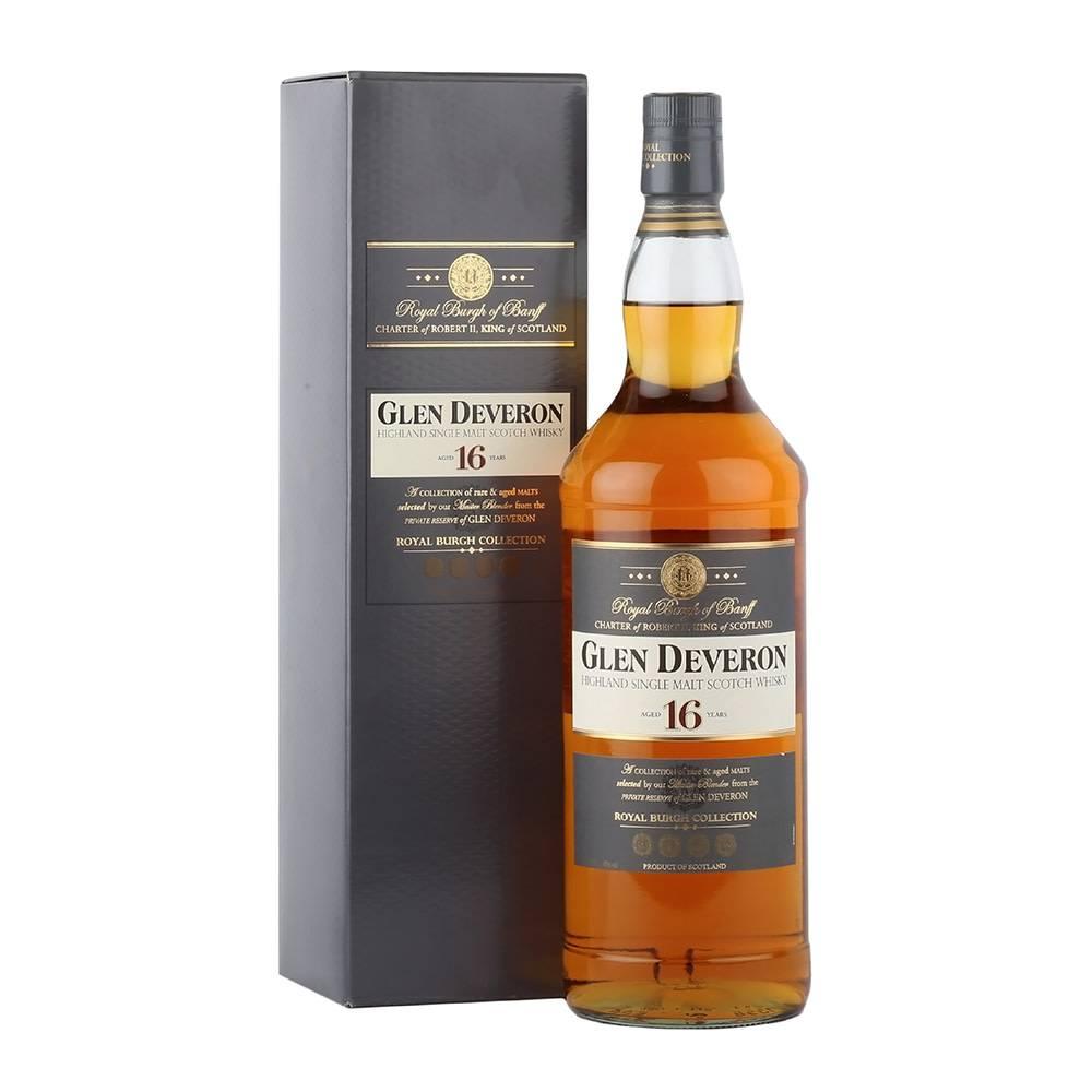 Glen Deveron Glen Deveron 16 Years Old Single Malt Scotch Whisky, Highland