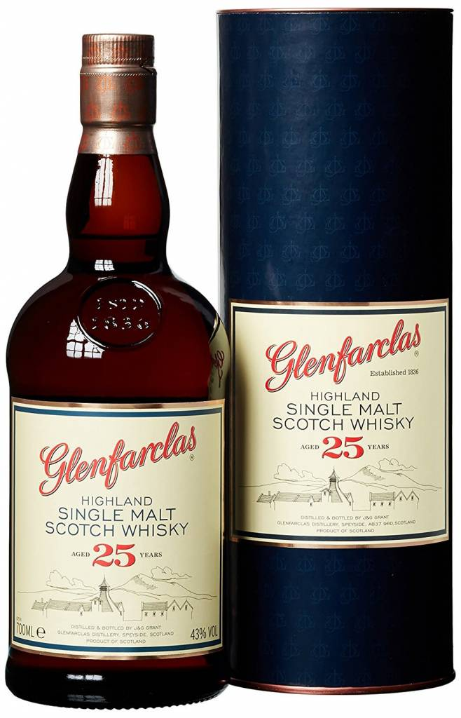 Glenfarclas Glenfarclas 25 Years Old Highland Single Malt Scotch Whisky, Speyside