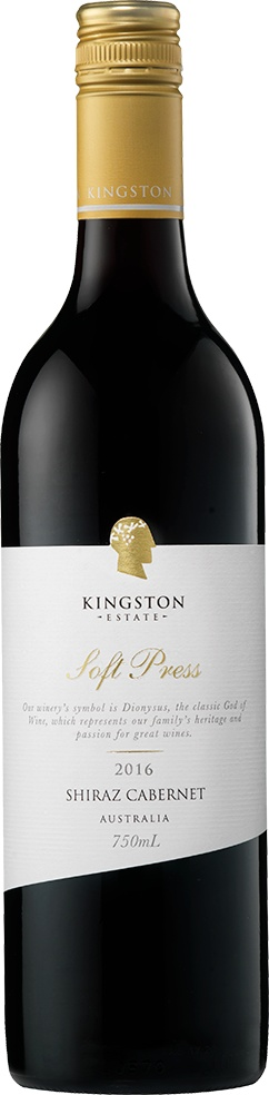 Kingston Estate Kingston Estate Soft Press Shiraz-Cabernet 2016, Australia