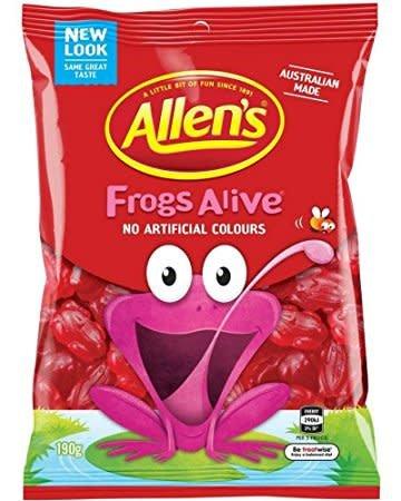 Allen's Allen's Frogs Alive
