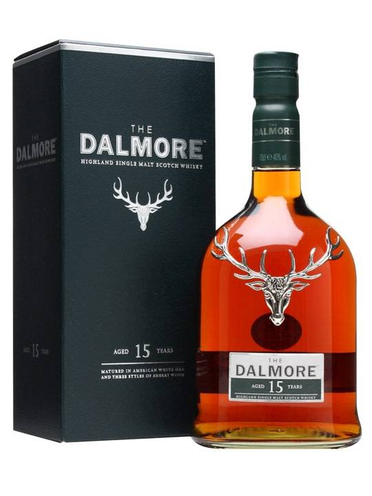 Dalmore Dalmore 15 Years Old Single Malt Scotch Whisky 1L, Highland