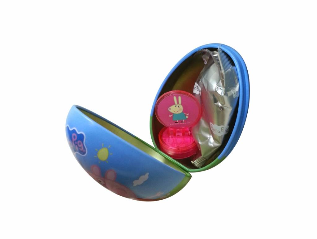 Peppa Pig Peppa Pig Surprise Tin Egg with Gummy 10g
