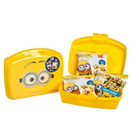 Despicable Me DM Lunch Box with Binky Bite (Banana Flavour)