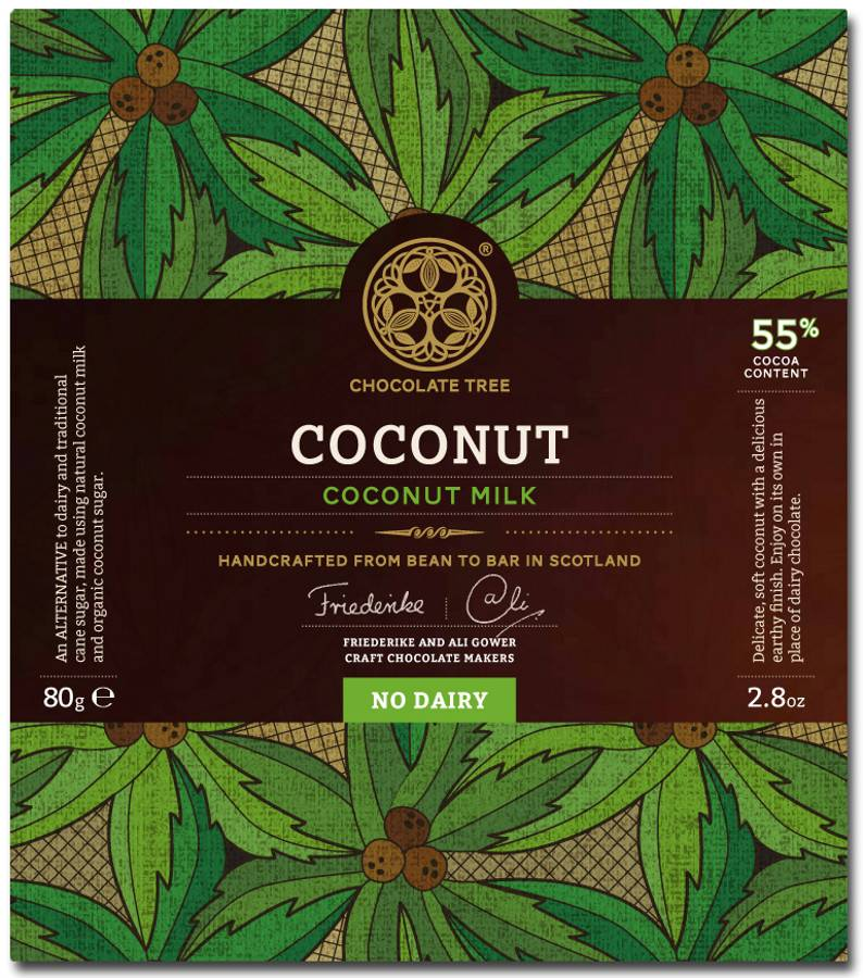 Chocolate Tree Chocolate Tree Coconut Milk 55% 80g
