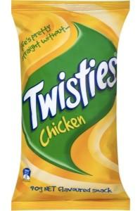 Twisties Twisties Chicken 100g