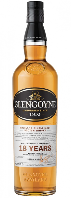 Glengoyne Glengoyne 18 Years Old Single Malt Scotch Whisky, Highland (1L)