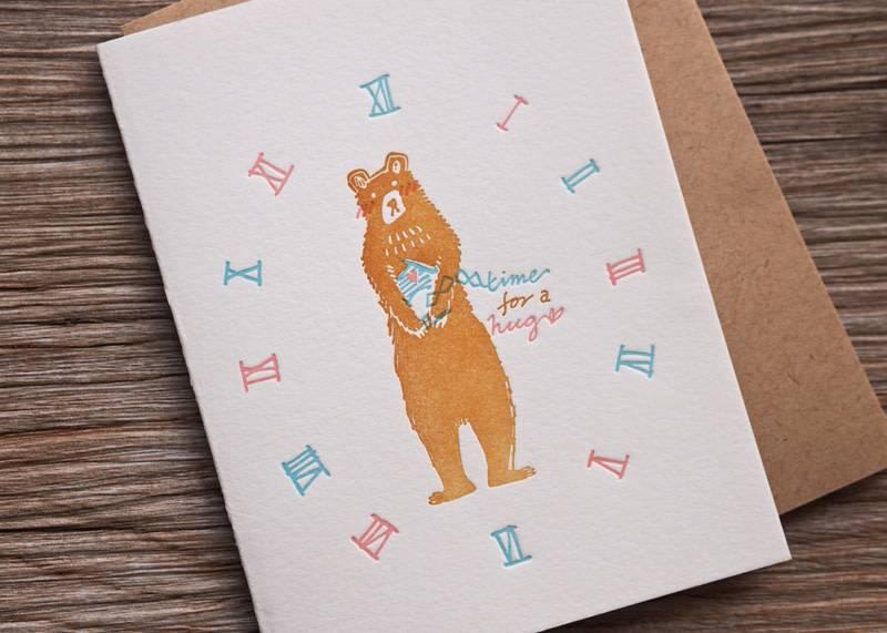 Ditto Ditto Ditto GC1301 Bear Hug Card