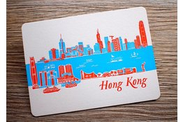 Ditto Ditto Ditto Postcard Hong Kong Skyline (DAY)