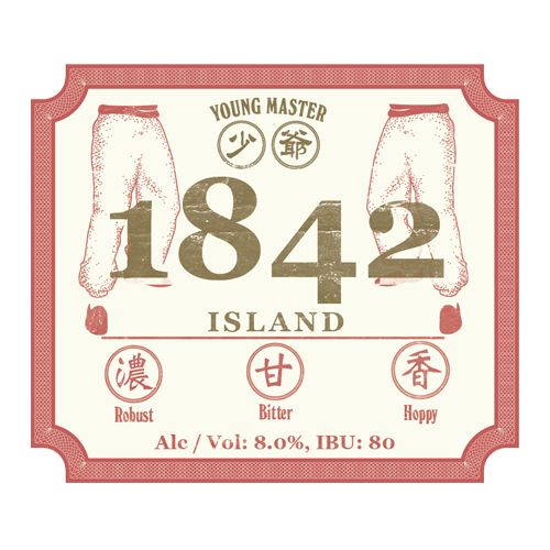 Young Master Young Master 1842 Island Imperial IPA