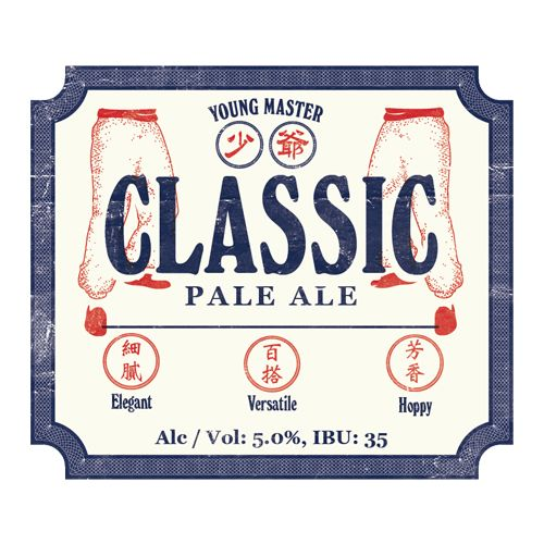 Young Master Young Master Classic Pale Ale