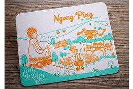 Ditto Ditto Ditto Postcard Ngong Ping
