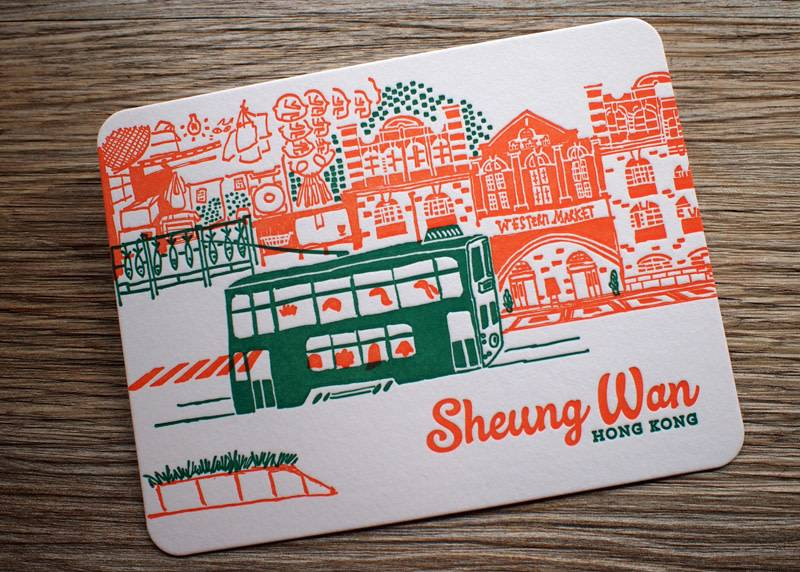 Ditto Ditto Ditto Postcard Sheung Wan