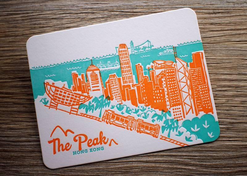 Ditto Ditto Ditto Postcard The Peak