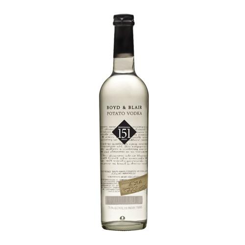 Boyd & Blair Boyd & Blair 151 Overproof Vodka
