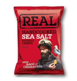 REAL Handcooked REAL Sea Salt 35g