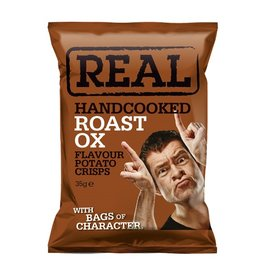 REAL Handcooked REAL Roast OX 35g