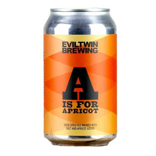 Evil Twin Evil Twin A is for Apricot Gose*