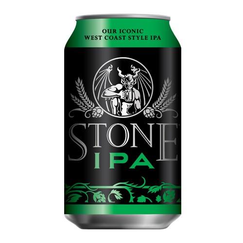 Stone Brewing Stone IPA ( 355ml Can)