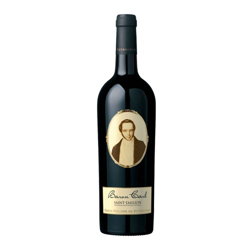 Baron Philippe de Rothschild Baron Philippe de Rothschild Saint Emilion Baron Carl 2013, Bordeaux Rouge, Saint Emilion, Bordeaux, France