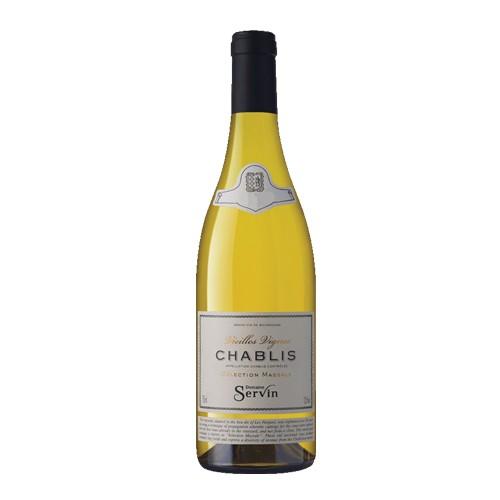 Domaine Servin Domaine Servin Chablis 2015, Vieilles Vignes, selection Massale, Chardonnay, Burgundy, France*