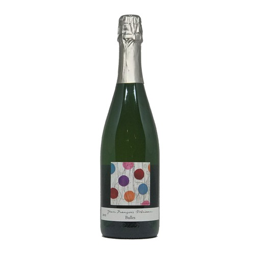"""Jean-François Mérieau Jean-François Mérieau """"Bulles"""" 2010, Methode Traditionelle, Sparkling Blanc, Brut, Touraine AOC, Lorie Valley, France"""
