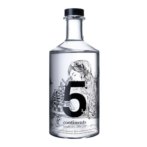 5 Continents 5 Continents Hamburg Dry Gin