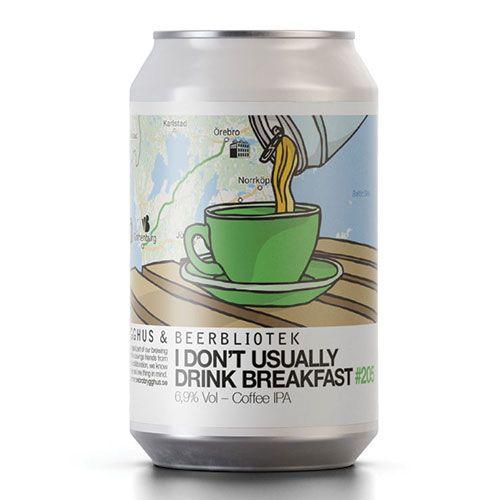 Beerbliotek Beerbliotek I don't usually drink breakfast Coffee IPA