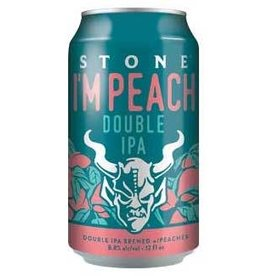 Stone Brewing Stone I'M Peach Double IPA