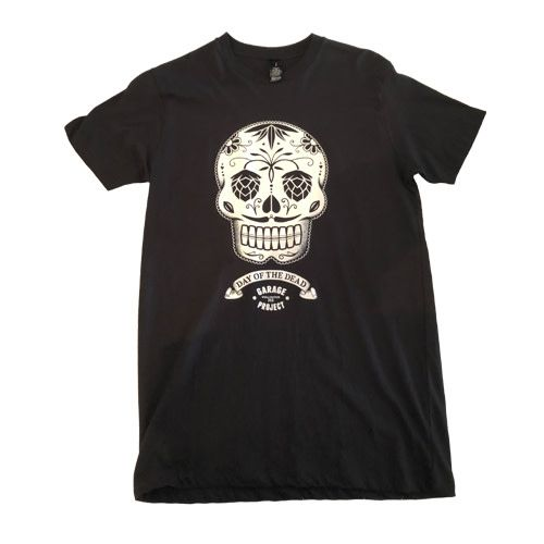 Garage Project Garage Project Day of the Dead Men's T Shirt S Size