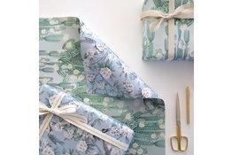 Bespoke Letter Press Bespoke Double Sided Gift Wrap - San Pedro / Victoria