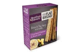 Huntley & Palmers Huntley & Palmers Flatbread Cracked Pepper & Rock Salt 125g