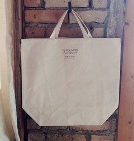 The Foundry Home Goods Canvas Tote Organic Cotton -Made In USA