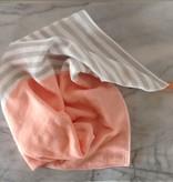 Square Towel with Hanging Loop - Orange