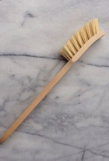 Swedish Long Handle Dishbrush - Stiff Tampico Bristles
