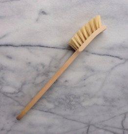 Swedish Long Handle Dishbrush - Stiff Tampico Bristles