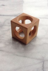 Handmade Minneapolis Maple Baby Block Cubicle - Small - 2 in.