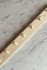 Swedish Birch Peg Rack with 7 Pegs - 26 x 4 x 4