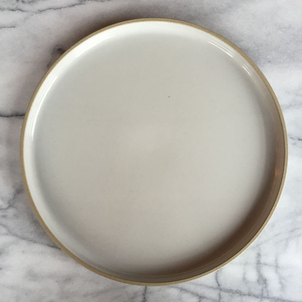 Hasami Porcelain Plate - Extra Large - Gloss Grey - 11.7/8 x 7/8