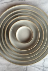 """Hasami Porcelain Plate - Extra Large - Gloss Grey - 11 3/4"""" x 3/4"""""""