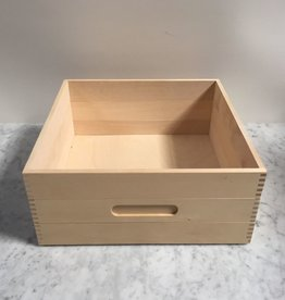 Birch Storage Box - Tall