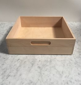 Birch Storage Box - Short