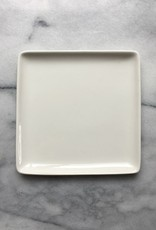 Square Porcelain Plate - Large - 5.5 in. x 5.5 in. x .5 in.