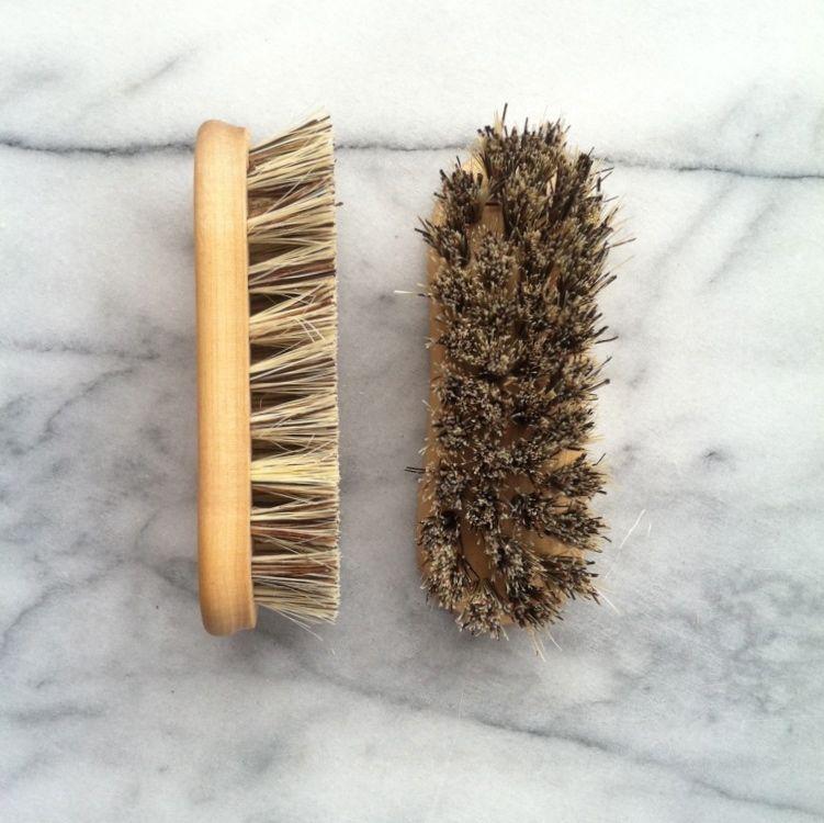 Birch Kitchen + Vegetable Brush - Small - Stiff Union Blend - 5 in