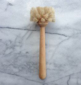 Swedish Long Handle Round Soft Glass Brush