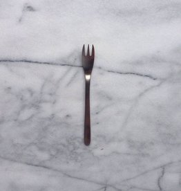 Sori Stainless Cake Fork - 6 in.